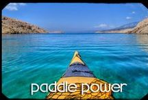 Paddle Power / On all of our around the world adventures we make sure to include something on the water. Travelling as an adventure couple it is a natural fit.  From surfing to rafting to sitting on the beach we try it all! | Find out more here: http://theplanetd.com/adventure-travel/adventures-in-water/ / by The Planet D