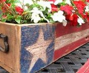 July 4th Decor & DIYs / 4th of July Ideas, Forth of July Decor, July 4th Party, BBQ, Independence Day, DIY Forth of July, 4th of July Decorations