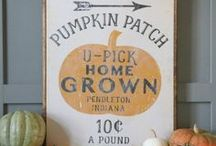 Fall & Thanksgiving Ideas / fall decor | thanksgiving ideas | autumn decorations | pumpkins | DIY thanksgiving | thanksgiving hacks | thanksgiving tablescapes | harvest | pumpkin patch | DIY fall | fall decorations | leaves | leafs | hay bales | fall DIY decorations | fall decorations for porch