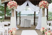 Wedding Ceremony / Wedding Ceremony ideas, inspiration, locations, décor & floral arrangements #ArtCarvedBridal  / by ArtCarved Bridal