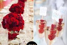 Red Themed Wedding / Red color themed wedding, red color accents, ideas & inspiration  / by ArtCarved Bridal