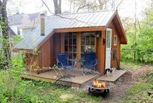 Cabin in the woods / One day one of these will be my time out place :)