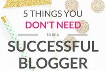 Blogging Advice / All things blogging: advice, tips & tricks and how-tos