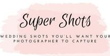 Wedding photography / I love wedding photography. There are so many stunning shots that your photographer can capture