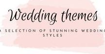 Themes / Choosing a wedding theme of style can be really hard. There are so many different styles and colours to choose from so where do you start? #weddingplanning #weddingstyle #weddingtheme #weddingcolour