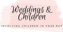 Weddings with kids / How to involve children (or not invite children) to you wedding