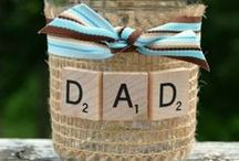 Father's Day Gift Ideas / DIY Father's Day Gifts, What to make for Dads, Dad's Day, Kids Crafts for Dad, Gifts for Him, Masculine Gifts, Gifts for Dad