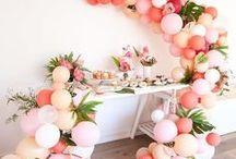 BALLOONS ✨ / Balloons, Balloon DIY, Garlands, Party Balloons, Cactus, Unciorn,