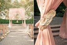 Wedding {Blush Pink & Rustic} / wedding related goodies! I'm a married woman, and I know a lot of you are well on your way to the big day! A little bit of inspiration can go a long way on your journey to planning the perfect wedding, trust me. :)