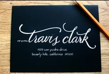 Lettering & Paper / calligraphy, typography and anything with pretty letters/fonts