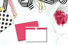 Monogram Love / Monograms are a style staple when it comes to fashion, accessories, and desk supplies here at #effiespaper! Check out our #Instagram feed for more of our favorite monogram items around the office: www.instagram.com/effiespaper