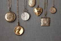 Jewelry / Any and all lockets.  Gold.  Silver.  Shiny.