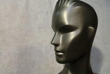 mannequin heads / The ever-never ending quest to find a suitable hat model!