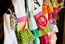 Aprons / I adore aprons! I wish to make them all! I like to sew special matching ones for each catering job.   I wear them all day and when I make enough, I will change them for every project. 1 for cleaning (might need 3 or 4 for that), another for cooking and yard work and playing with my Grandkids and a 'special' one for when Hubby comes home.