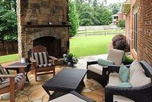 Backyard + Outdoor Spaces / Make a space just for playing or for entertaining while sprucing up and adding beautiful touches to the other outdoor spaces around your home. Your backyard can be an oasis and fun, while your frontyard is welcoming and inviting.