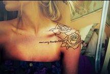 Tattoos / by Kaitlyn Francik