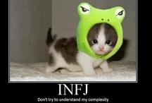 INFJ - Myers Briggs / by Catherine Drew