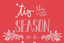 'tis the Season / Christmas goodies, New Year's parties. I'm excited for it all.