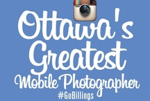 Ottawa's Greatest Mobile Photographer Contest! / BECOMING #OTTAWA'S GREATEST MOBILE PHOTOGRAPHER IS A SNAP!  All you have to do is take at least 10 photographs on Instagram between Wednesday, May 23rd and Sunday, May 26th and tag them #GoBillings  Visit http://bit.ly/1a3lvSO for full details.