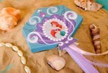 The Little Mermaid Birthday Idea / Plan the perfect bash under the sea with these ideas for a Little Mermaid birthday! Fun ocean themed treats, beautiful decor and more.