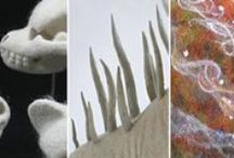 Blogs-textile & millinery, both Inspiring & educational. / Pinterest is a handy place to 'bookmark' blogs of interest.  As a maker of felted hats, I'm interested in feltmaking & millinery.  I suppose I should be interested in fashion....