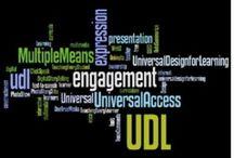 udl.  / universal design for learning. brilliant.