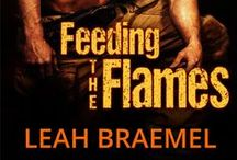 Feeding the Flames / Some of the images that inspired me while I was writing Feeding the Flames.   Volunteer Firefighter Zac Buchanan has made stopping off at life-long friend Tabatha Morgan's new diner a ritual. She really cooks, and he's not talking just about the food.  But if their new-found love and sizzlin' hot action in the bedroom—and living room, kitchen and bathroom—is to survive, Tabatha must also accept the smoke, flames and danger of Zac's job. Or their happy-ever-after will forever be extinguished.