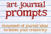 Creative Art & Journal Prompts / Ideas for when you don't have any!