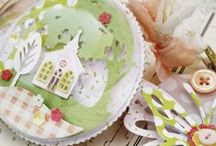 PTI Petite Places cards and projects