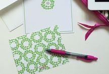 Stationery for Alpha Kappa Alpha Sorority / Our Alpha Kappa Alpha boxed stationery sets are perfect for all of the AKAs in your life. No one can ever have enough stationery! They're perfect for AKAs who love to correspond or who may need a little nudge to start sending handwritten thank you notes. / by effie's paper stationery co.