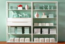 Craft Nooks / Create a space for your crafts, whether it's a nook, a desk or a whole room. Find inspiration and ideas for how to organize your craft supplies.