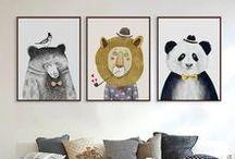 Kids room posters