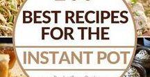 Instant Pot Recipes / Recipes using the Instant Pot.