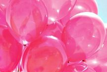 Hot Pink / by Kathy Fulkerson