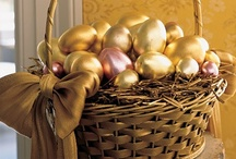 Here Comes Peter Cottontail... / Easter Decorating, Crafts, Recipes / by Cindy Tourdot