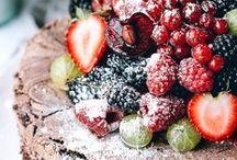 "Desserts! / ""Life is uncertain, Eat Dessert first"" / by Mikala Rodriguez-Bighaus"