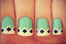 Nails Nails Nails! / a girl should be two things, classy and fabulous / by Bethany Seiley