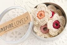 Crochet flowers, appliques, doilies, etc.