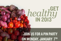 Healthy in 2014 / Ring in the new year with healthy habits. Get healthy tips from iVillage, Whole Foods, Joy Bauer, and Jessica Smith!