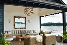 Mud Room, Porches & Outdoor Living / From Indoor To Outdoor Spaces
