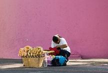 art. COLORS OF MEXICO / The beautiful colors of Mexico, the food, architecture, land, and its people.