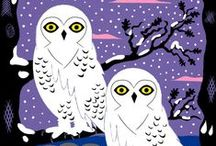 Owls: Art Projects for Kids / Lovely and adorable Owl Art and Craft ideas for kids. / by Deep Space Sparkle