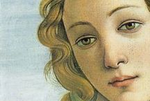 artist. BOTTICELLI / One of my favorite artists.