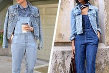 I love jeans/ Denim / Painel sobre looks com jeans/denim