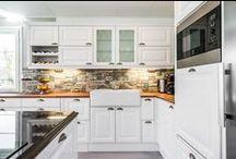 Keittiö / Kuvia Älvsbytalon keittiöistä