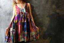 Fabric Arts: Clothes that inspire me / Lacy and frilly.
