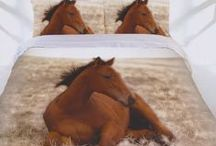 Horse Bedding / Horse bedding sets and bedroom accessories available from Kids Bedding Dreams online store. www.kidsbeddingdreams.com/horse-bedding