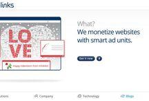 "Infolinks Homepage ""Themefolinks"" / by Infolinks"