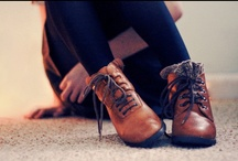 Shoes are life. /