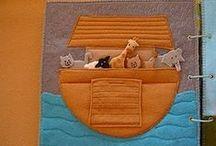 Fabric Arts: Quiet books / Handmade cloth or paper books for children
